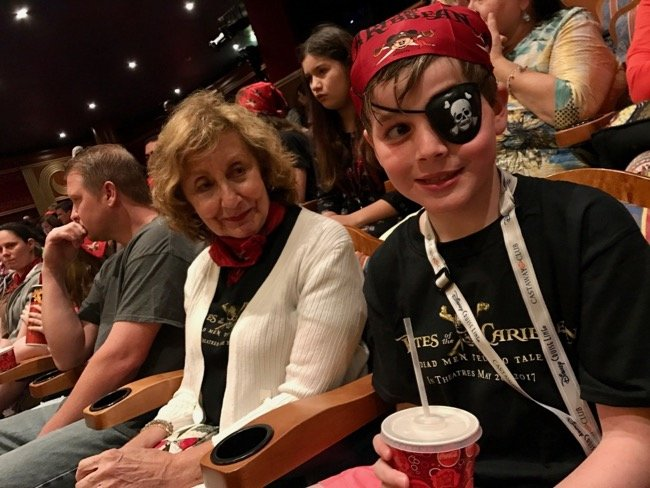 Pirate Night Disney Cruise Tip