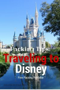 Packing Tips like these are ideal for helping you make the most of your next vacation! Check out our Packing Tips For Traveling With Kids To Disney!