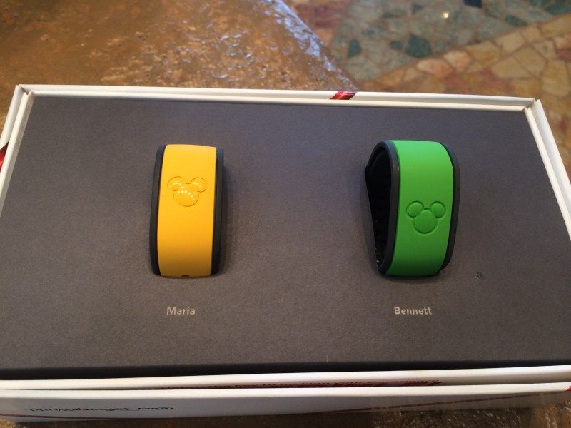 #disneyside magic bands