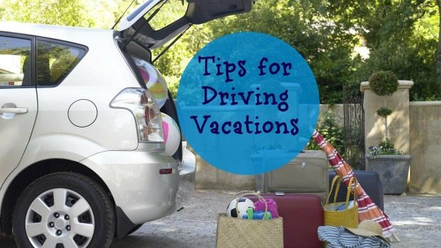 driving Vacations tips