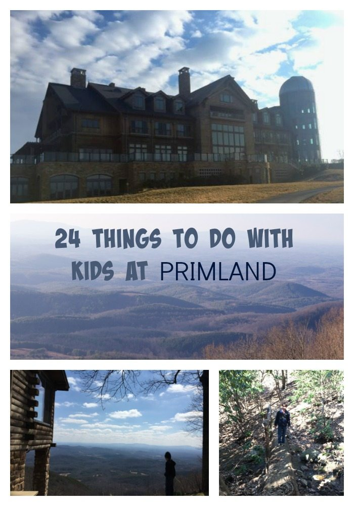 24 things to do with kids at Primland