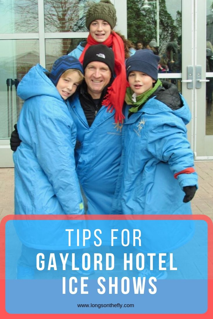 Tips for gaylord ICE SHOW