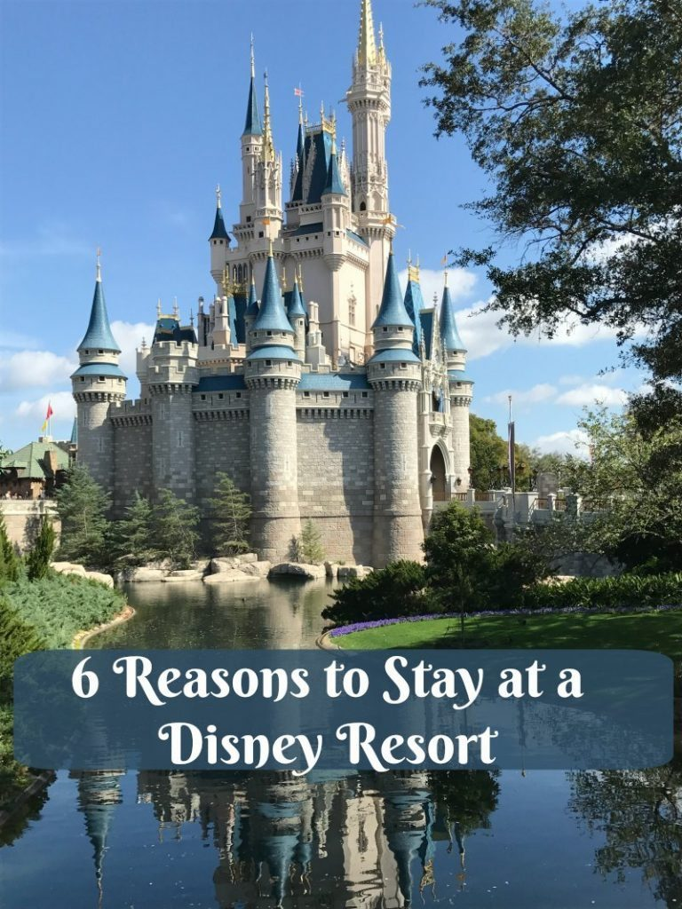 6 reasons to stay at a disney resort