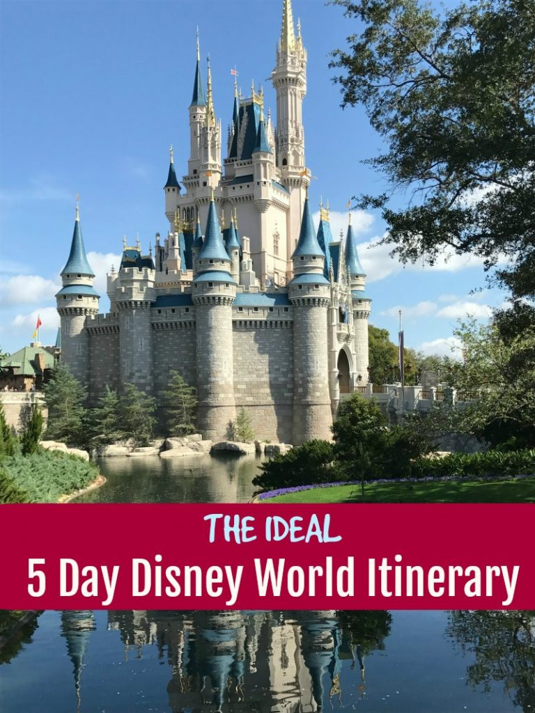 The Ideal 5 Day Disney World Itinerary Traveling with Kids? Here are our Top Tips For Surviving Family Vacations