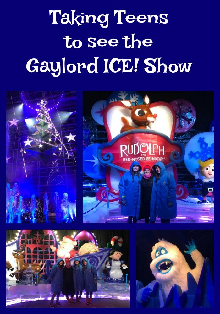 Taking teens to Gaylord Ice Show