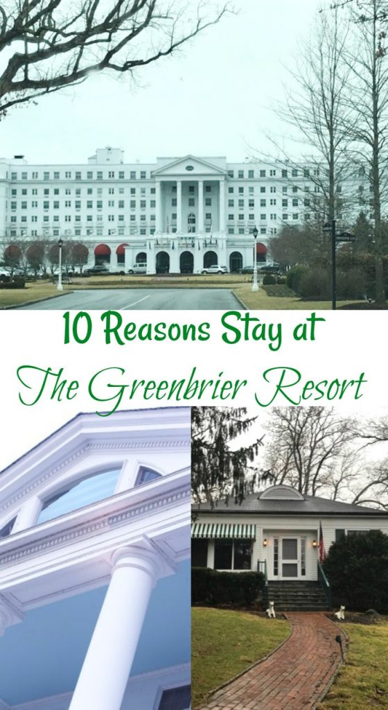 10 Reasons Stay at The Greenbrier Resort for Family Vacations