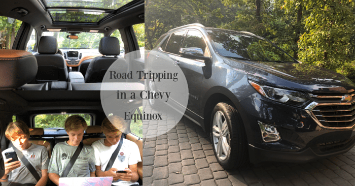 Chevy Equinox. features