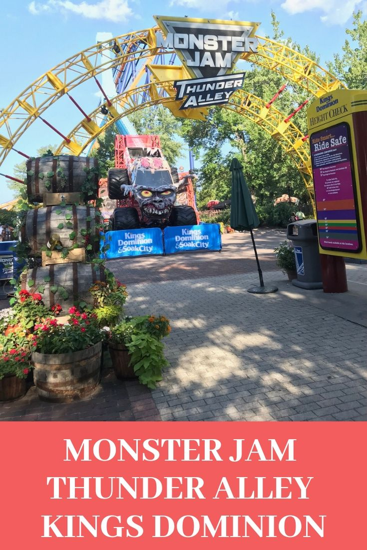 Monster Jam Thunder Alley at Kings Dominion