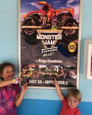 Take Your Kids to Monster Jam Thunder Alley at Kings Dominion