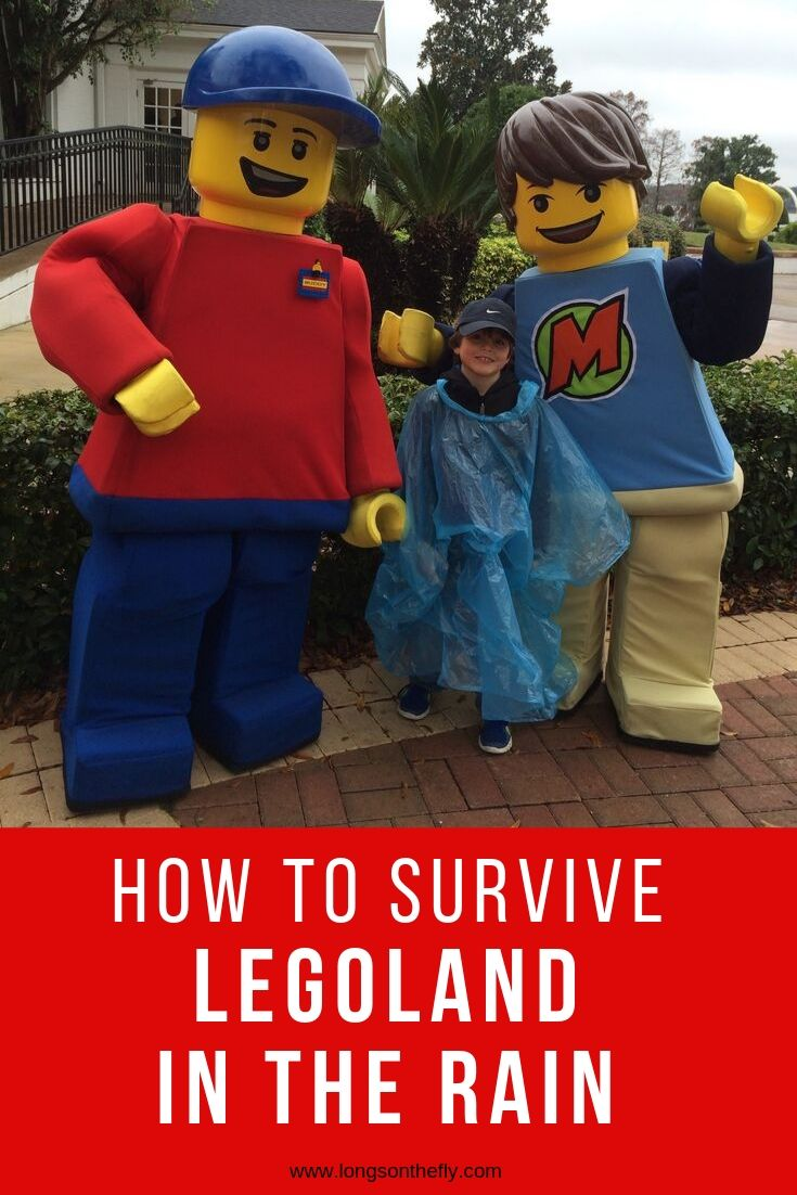how to survive Legoland in the Rain