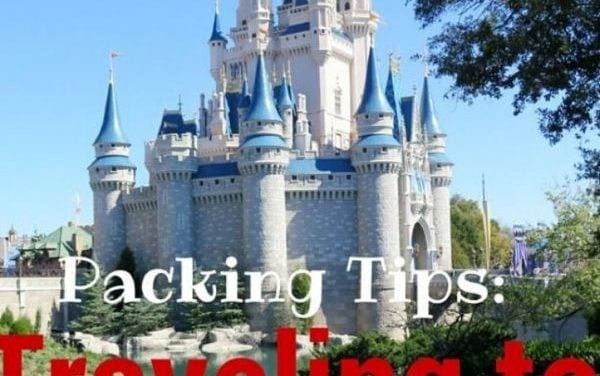 Packing Tips for Traveling with Kids to Disney