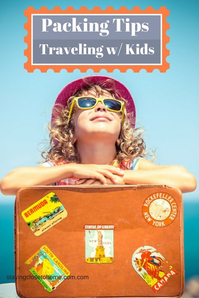 packlng tips for traveling with kids