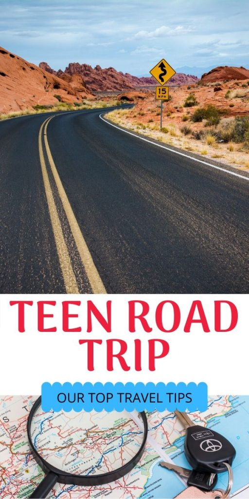 Tips for teen road trip